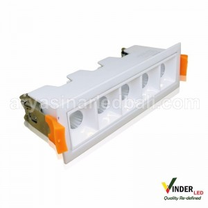 Vinder LED Downlight Spotbar 10W